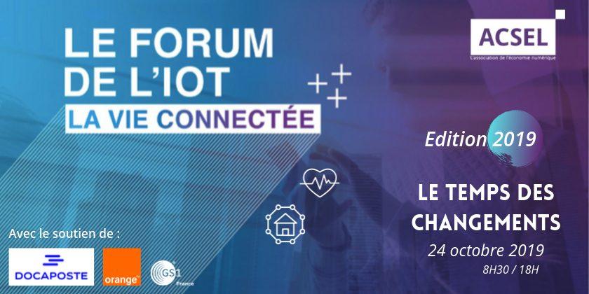 2ème édition du Forum de l'IoT, la vie connectée