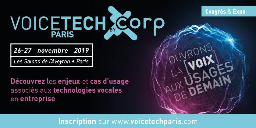 Salon Voice Tech Paris 2019