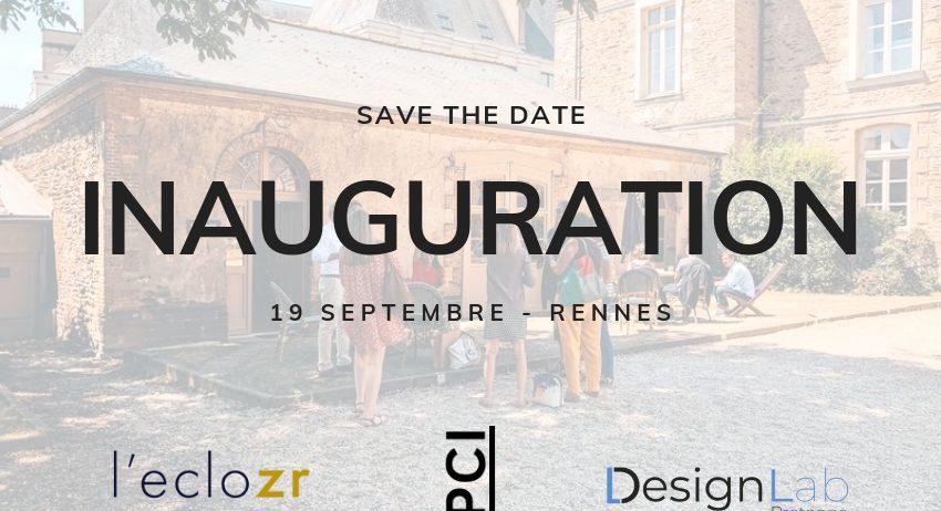Inauguration de l'eclozr & du Design Lab