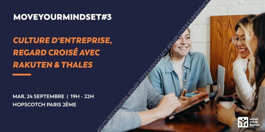 MoveYourMindset#3 : Culture d'entreprise, regard croisé Rakuten & Thales