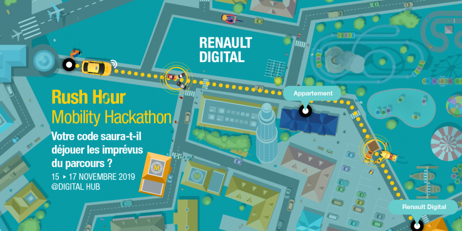 Rush Hour Mobility Hackathon par Renault Digital