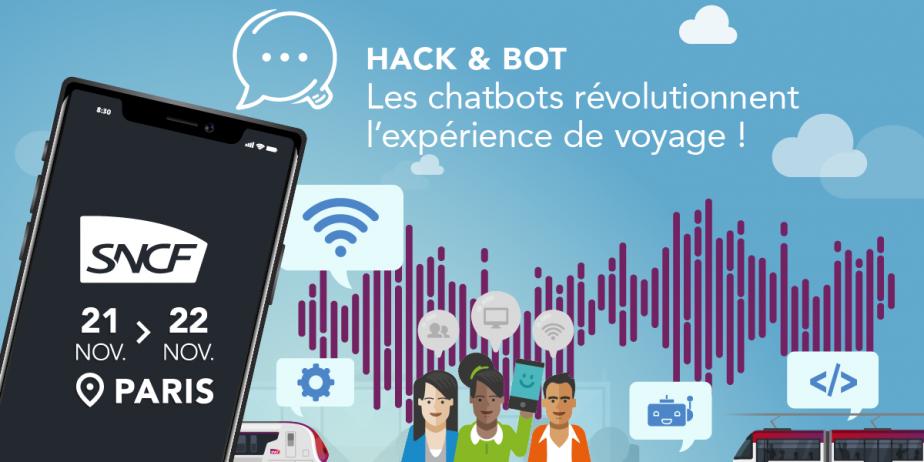 Hack & Bot : les chatbots révolutionnent l'expérience de voyage !