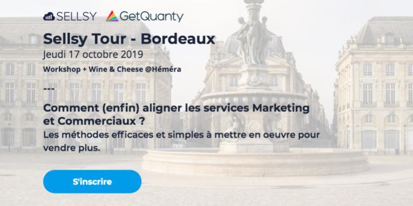 Comment (enfin) aligner les services Marketing et Commerciaux ? avec Sellsy et GetQuanty