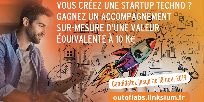 Challenge Out of Labs : faire financer et accompagner sa startup