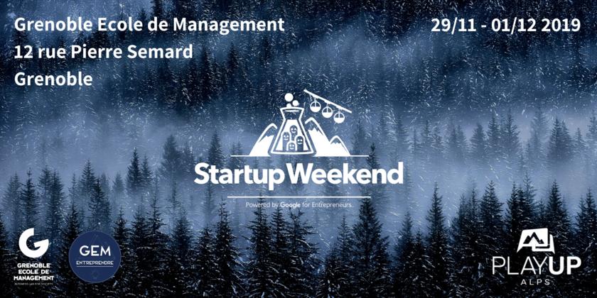 Startup Weekend Grenoble — 9ème édition