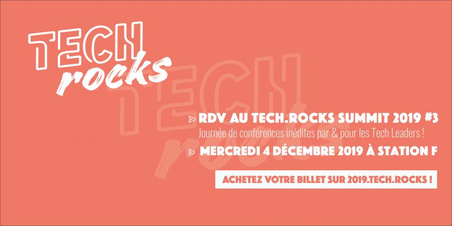 Journée de conférences et talks - Tech.Rocks Summit 2019