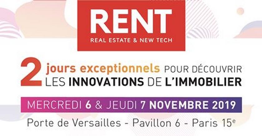 Rent, le plus grand événement innovant dédié aux professionnels de l'immobilier
