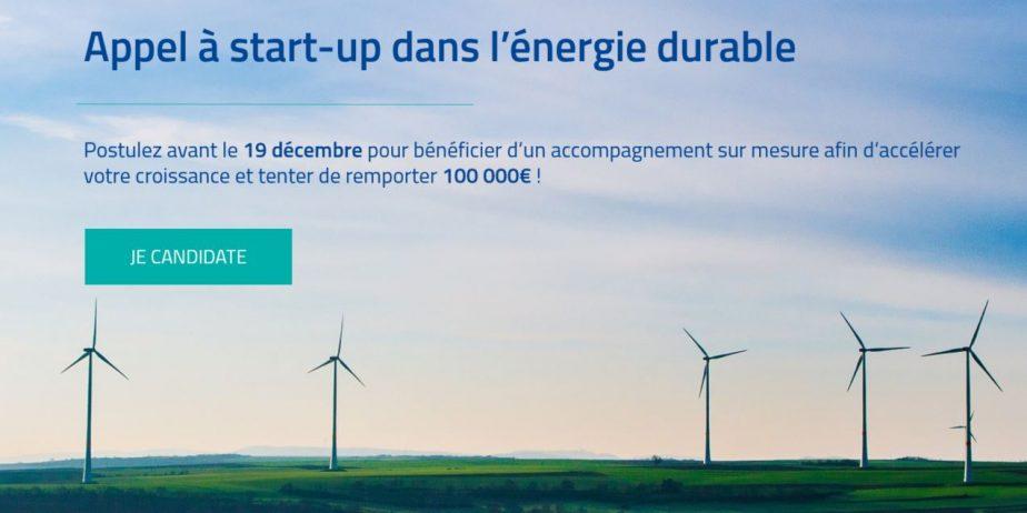 [InnoEnergy] Appel à start-up européen dans l'énergie durable