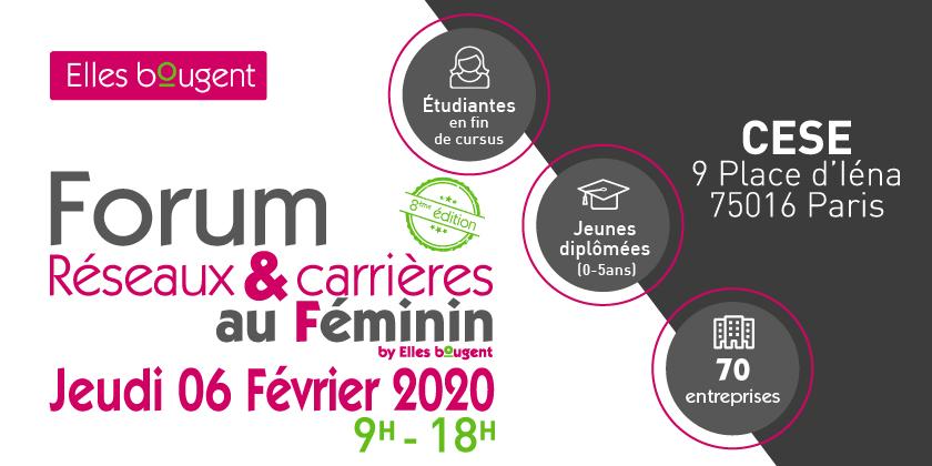 Forum Réseaux & Carrières au féminin by Elles Bougent