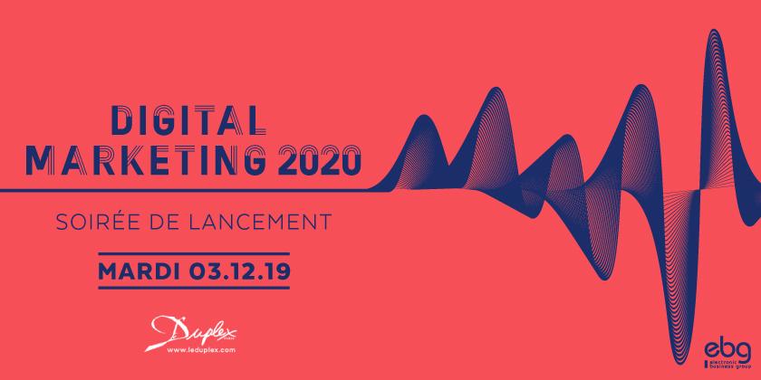 Soirée de lancement du guide Digital Marketing 2020