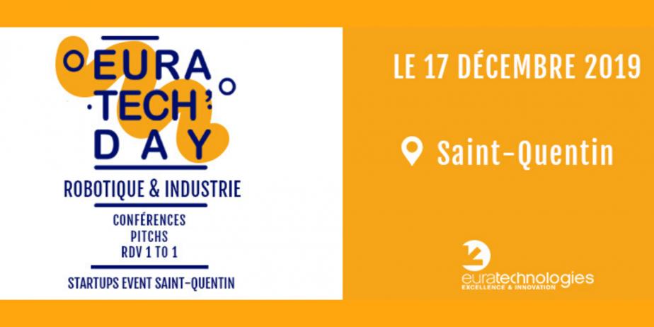 📢 EuraTech'Day spécial Robotique & Industrie