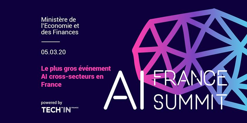 AI France Summit - Le plus gros événement AI cross-secteurs en France