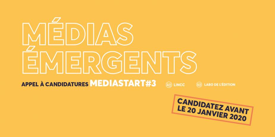 LINCC et Le Labo de l'édition recrutent la 3e promotion de leur programme MEDIASTART