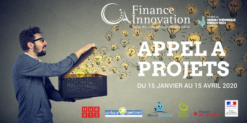 Accélérez votre projet Fintech et candidatez au 11e Appel à projets FINANCE INNOVATION ! 🎖️