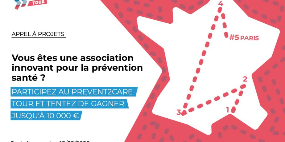[Appel à projets] Prevent2Care Tour, le prix des associations de la prévention santé / Etape #5 / Paris