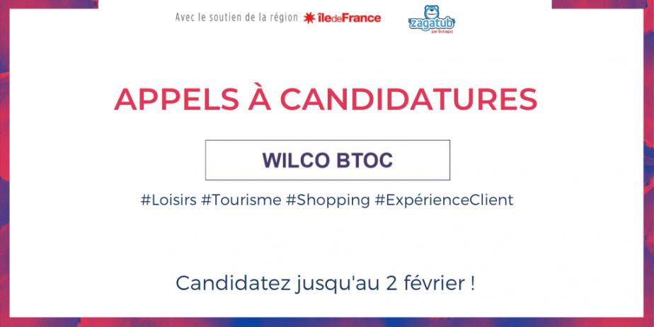 Appel à candidatures Wilco BtoC