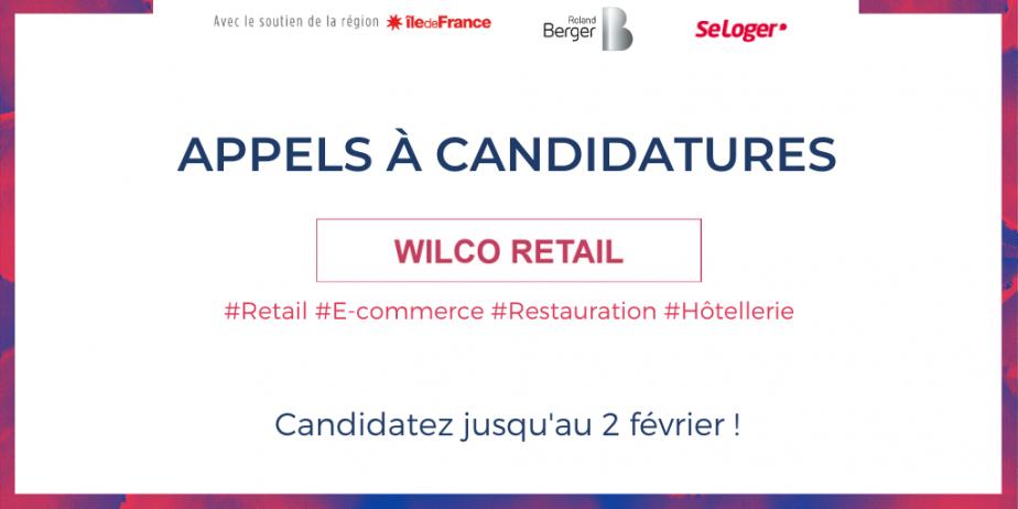 Appel à candidatures Wilco Retail