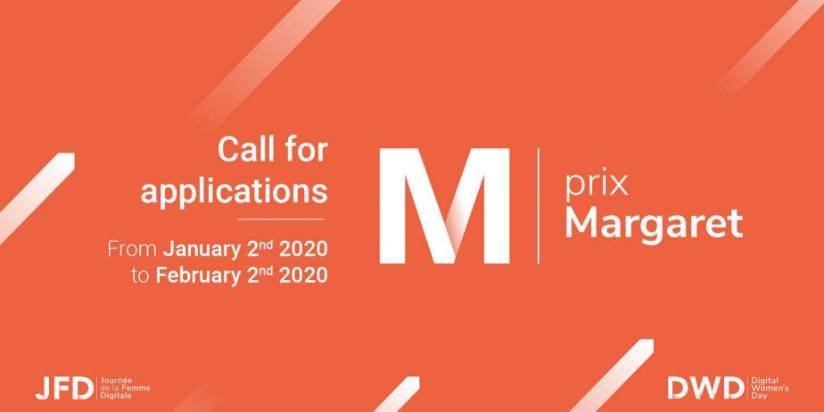 Appel à candidatures #lesMargaret 2020