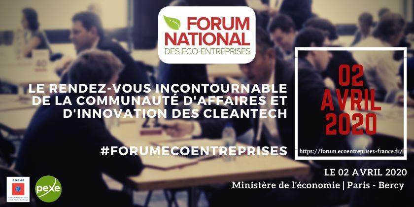Forum national des éco-entreprises - 11ème édition