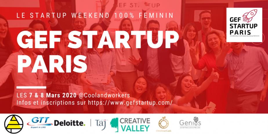 GEF startup Paris