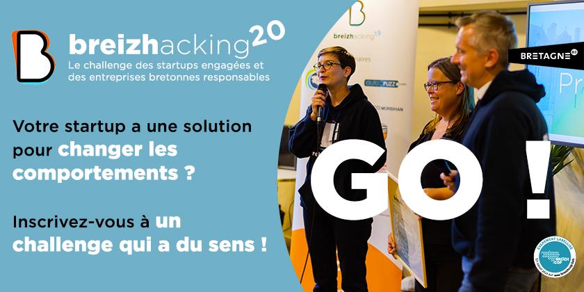 Breizhacking, le challenge des startups engagées et des entreprises bretonnes responsables