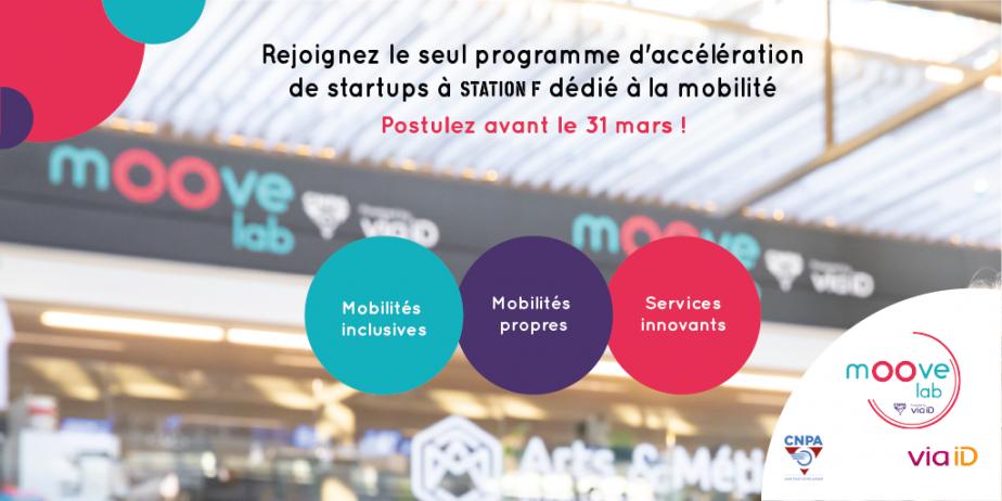 Rejoignez l'accélérateur des startups de la mobilité à Station F !