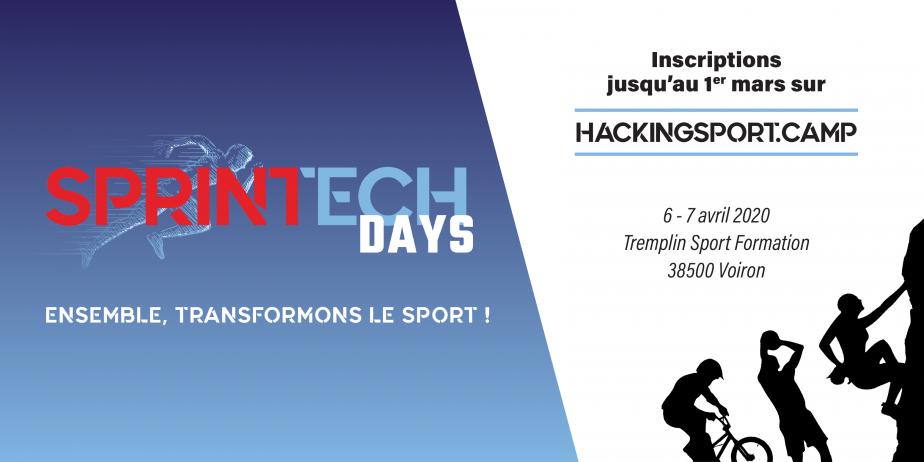 Sprintech Days, le hackathon de l'innovation technologique au profit de la performance sportive
