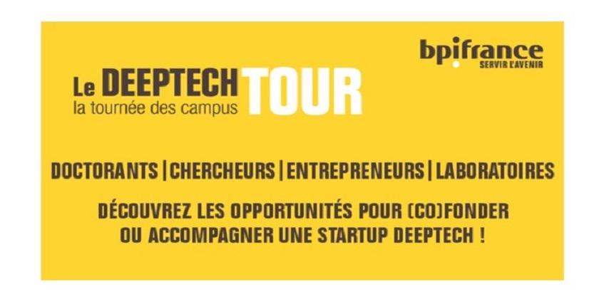 Deeptech Tour Sorbonne Université. Une tournée au cœur de l'innovation technologique !