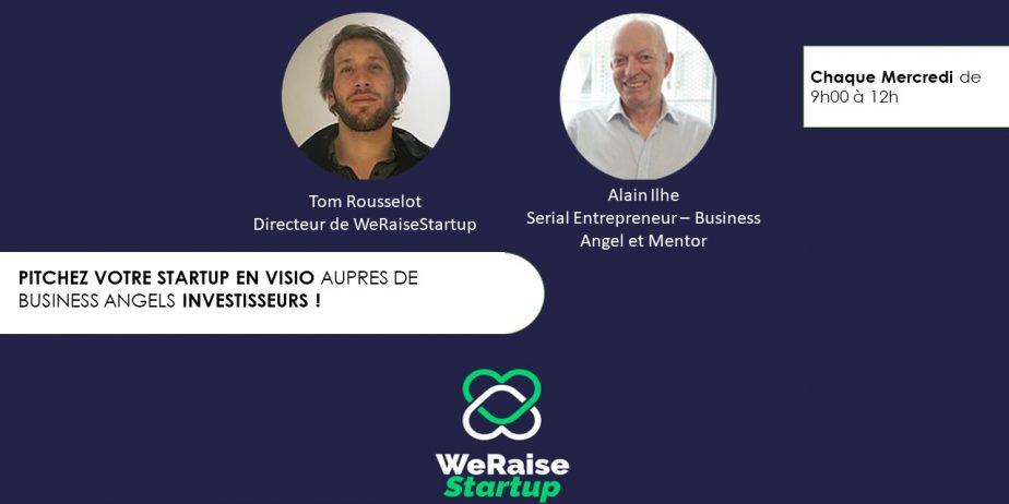 Trouve ton mentor et rejoins l'accélérateur de levée de fonds WeRaiseStartup
