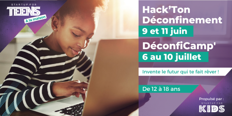 Startup For Kids 2020 - DéconfiCamp : l'IA, une solution pour les défis du futur ?