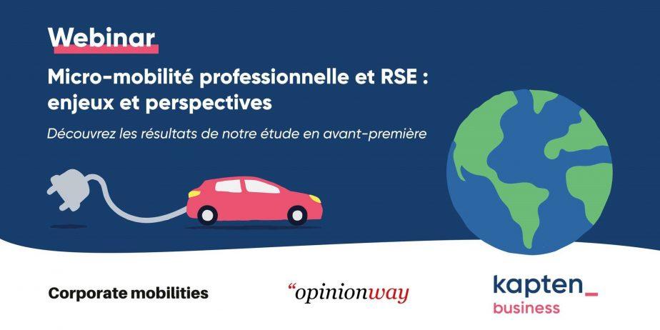 Micro-mobilité professionnelle et RSE : enjeux et perspectives