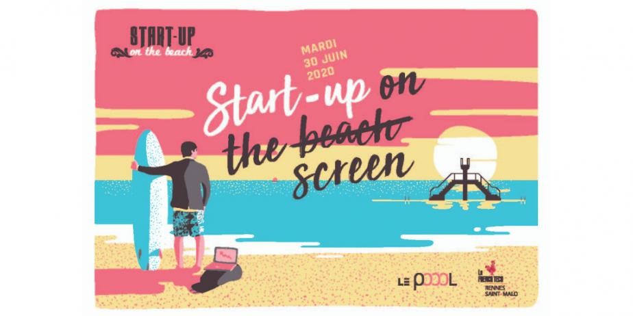 Start-up on the beach