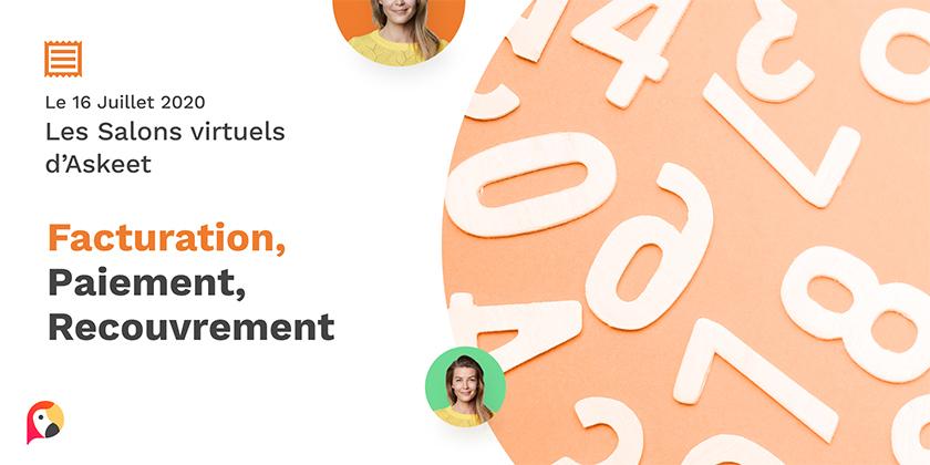 Salon Virtuel dédié aux solutions de facturation, paiement et recouvrement