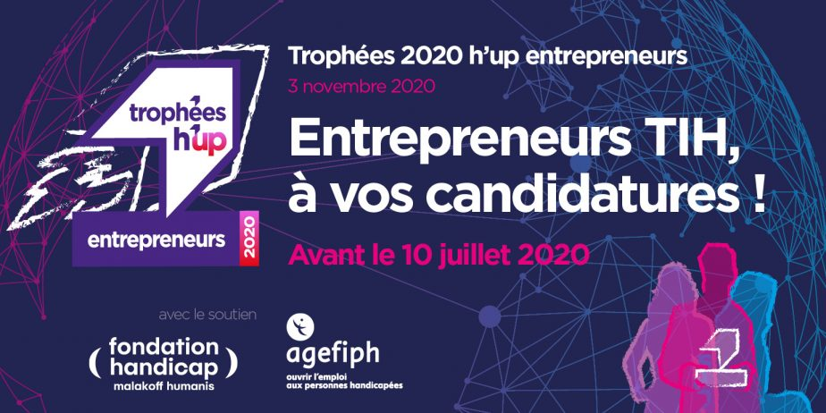 Appel à candidatures des Trophées h'up entrepreneurs 2020