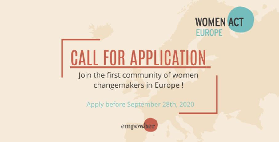 Empow'Her lance Women'Act Europe !