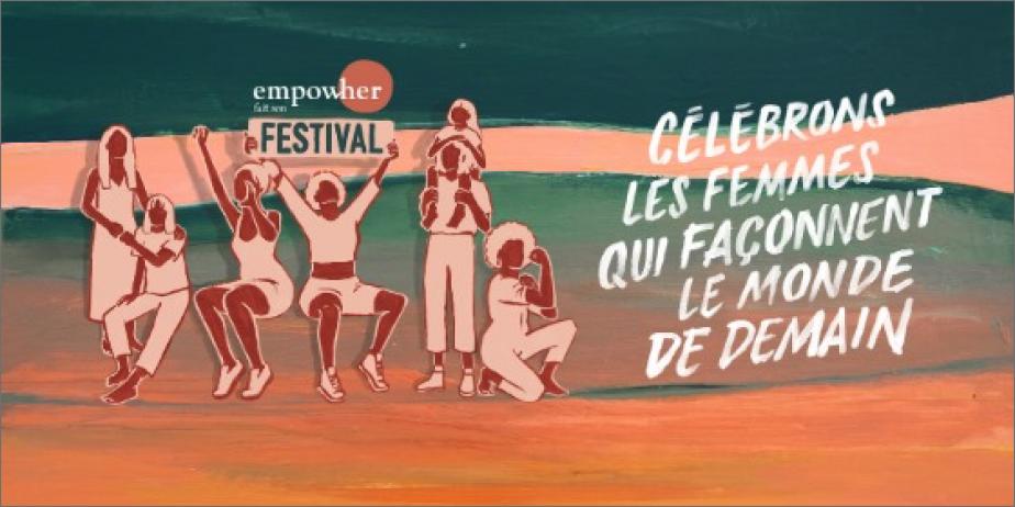 Participez au premier festival qui célèbre les femmes et leurs solutions d'avenir !