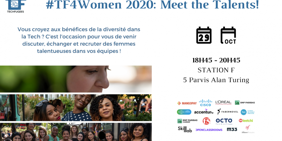#TF4Women Networking : Venez à la rencontre de talents !