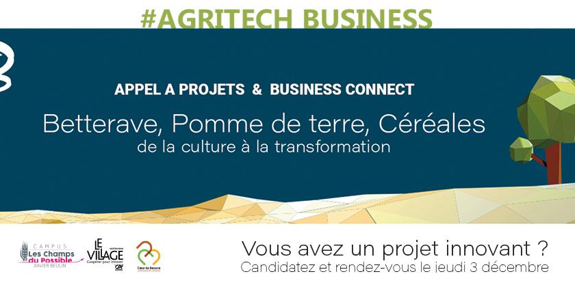 Concours de projets innovants AgriTech Business