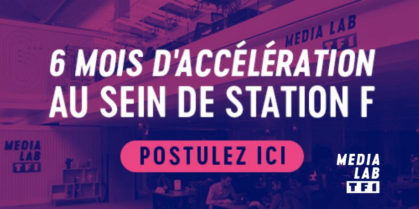 Rejoignez le Média Lab de TF1 - Appel à candidatures