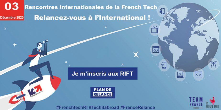 Les Rencontres Internationales de la French Tech 2020 : Relancez-vous à l'International !