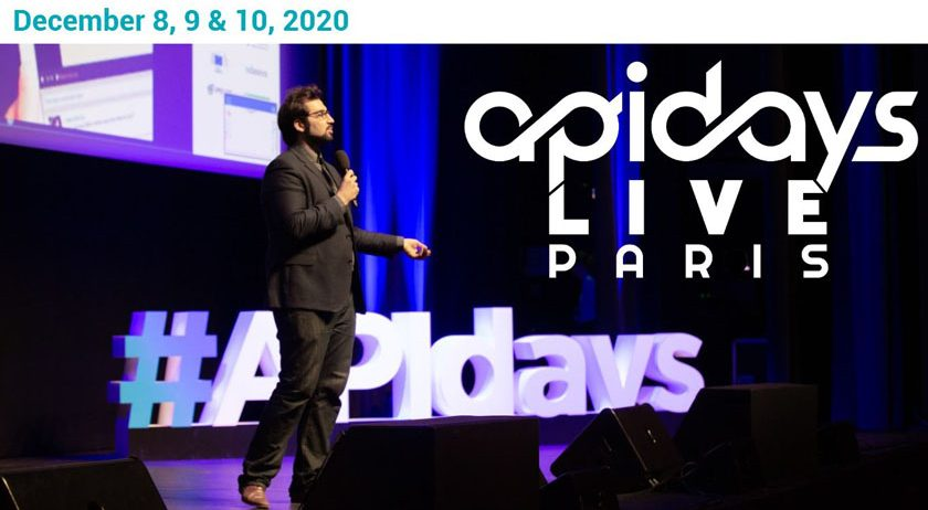 Apidays Paris: 9e édition de la plus grande conférence mondiale dédiée à l'impact économique des APIs.