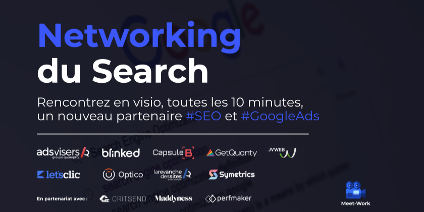 Networking du Search #SEO #GoogleAds