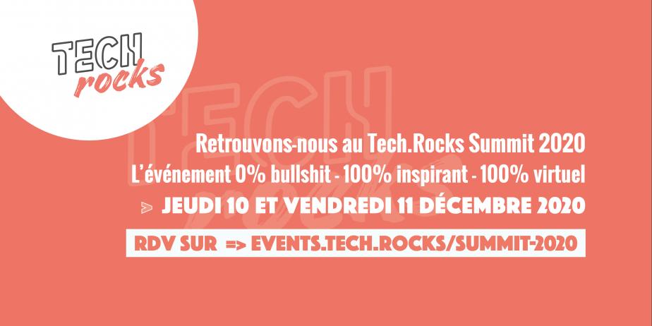 Tech.Rocks Summit 2020 EN LIGNE - 2 jours de conférences pour Tech Leaders