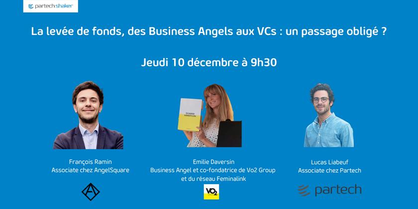 La levée de fonds, des Business Angels aux VCs : un passage obligé ?