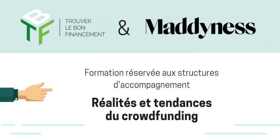 Webinar structures d'accompagnement : réalités et tendances du crowdfunding