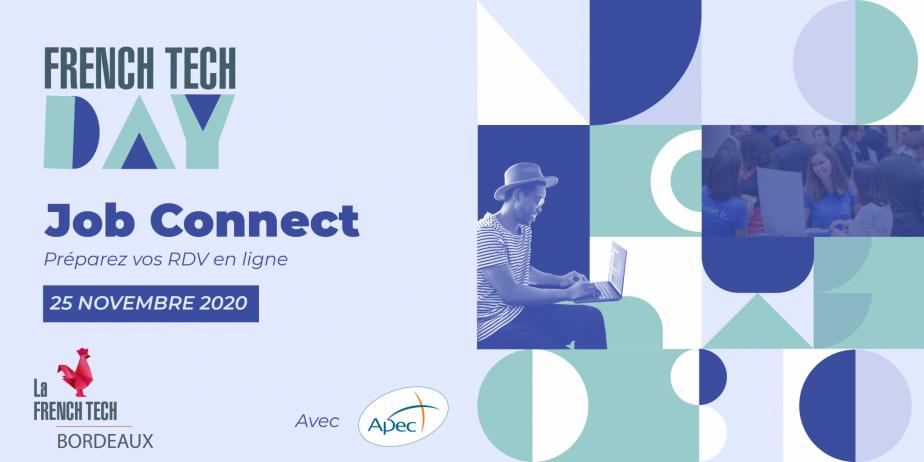Le Job Connect, l'événement dédié au recrutement de La French Tech Bordeaux, dévoile 262 postes à pourvoir !