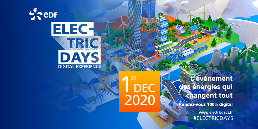 Electric Days, Digital Expérience - L'Evénement des énergies qui changent tout
