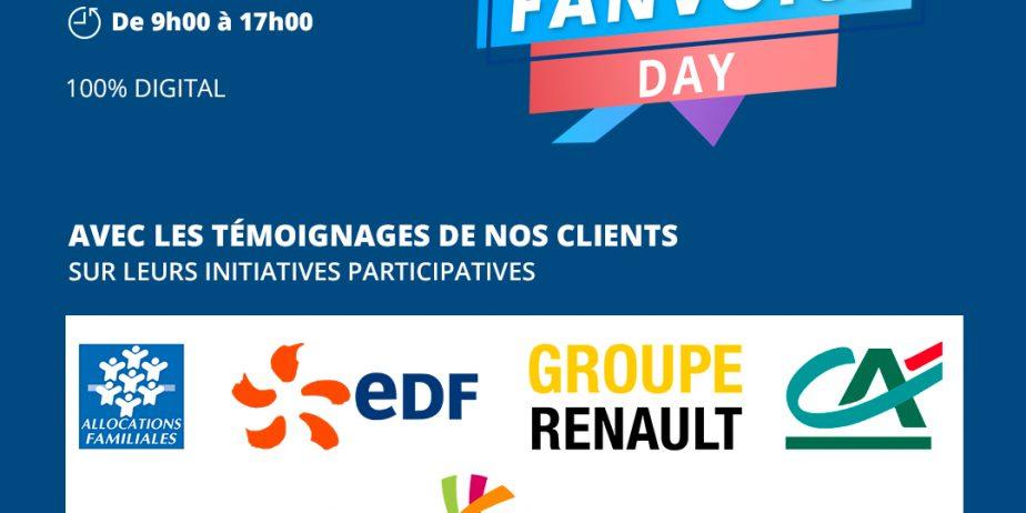 Fanvoice Day, l'évènement 100% digital autour de la co-création