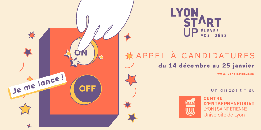 Appel à candidature Lyon Start Up